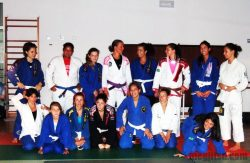 First women's open mat, Lisbon
