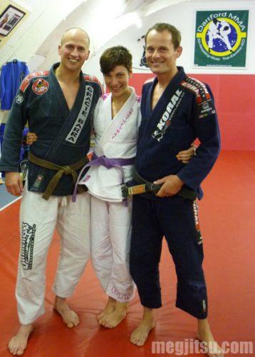 Dave Birkett, Meg Smitley, Marc Walder