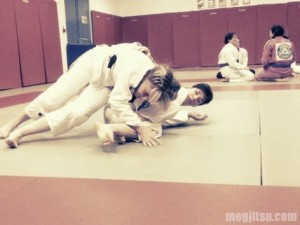 BJJ Women Sparring at the London Women's Open Mat Feb 2011