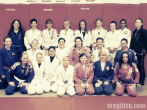 London BJJ Women's Open Mat Feb 2011