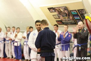 Danny Suman blue belt promotion