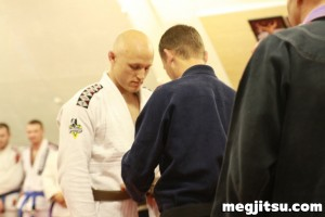 Simon Taylor brown belt promotion