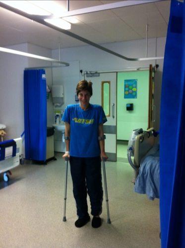 Jiu Jitsu Stylin' on hospital discharge