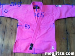 Fuji Victory jacket measurements