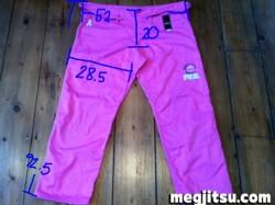 Fuji Victory trouser measurements