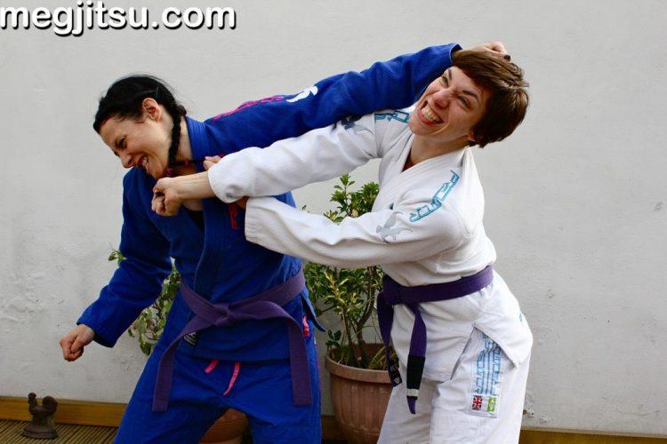 Jiu Jitsu Hair Pull