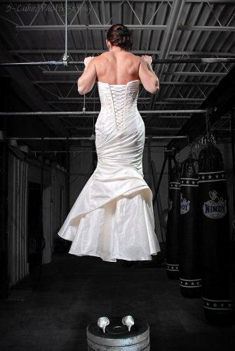 Wedding Dress Pull Up
