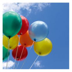 balloons and sky