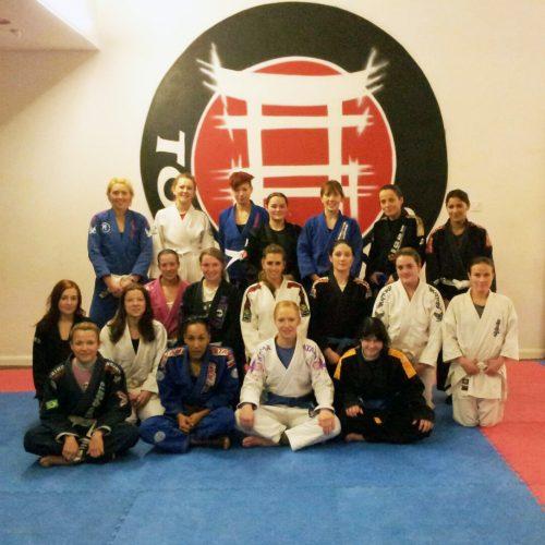 group portrait of Feb 2013 open mat