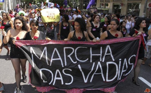 Brazil 'Slut Walk' 2011