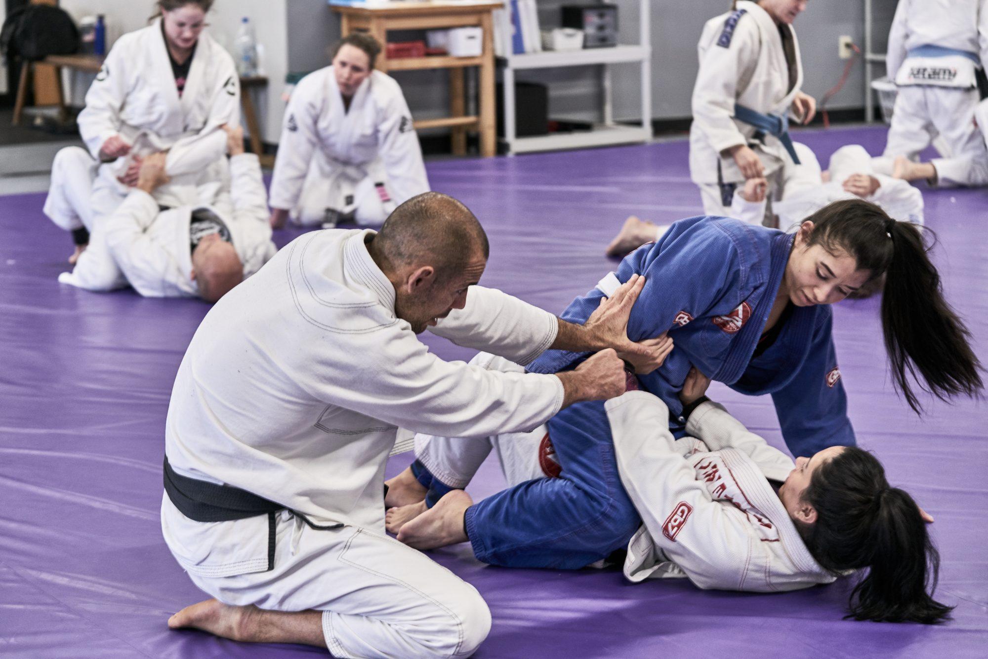 composure in jiu jitsu