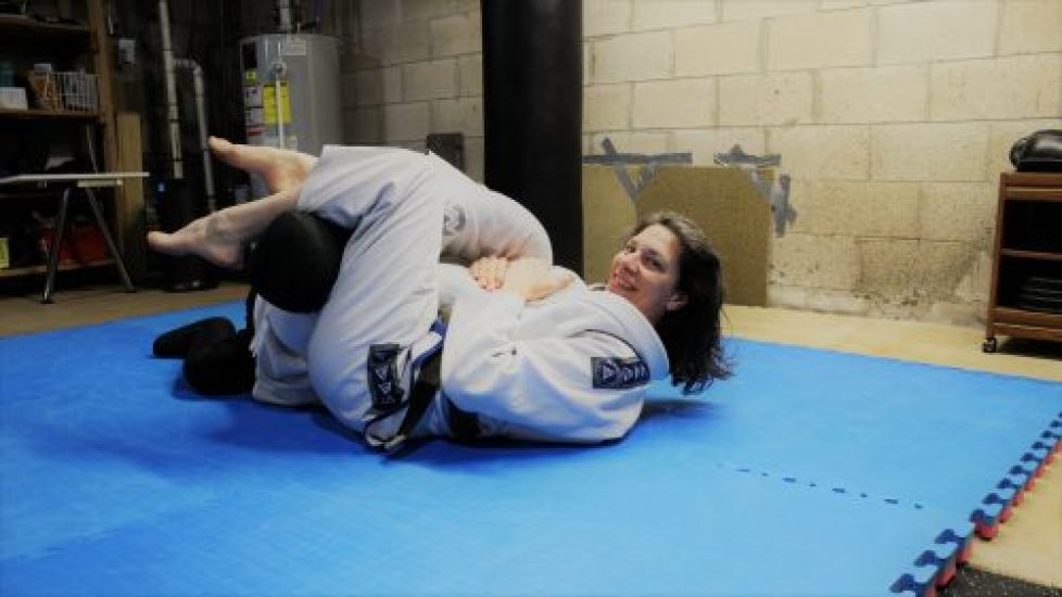 Armbar from guard sequence